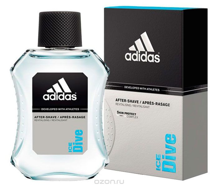 "Adidas Ћосьон после брить¤ ""Ice Dive After Shave"", 100 мл"
