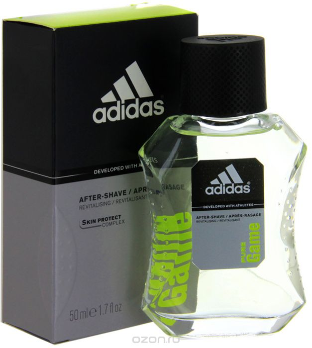 "Adidas Ћосьон после брить¤ ""Pure Game After Shave Lotion"", 50 мл"